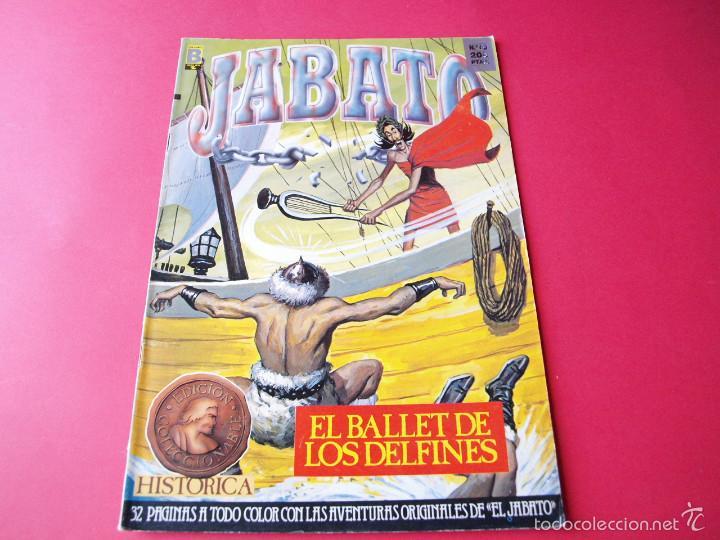JABATO NÚMERO 60 - EL BALLET DE LOS DELFINES - EDICIÓN HISTÓRICA - EDICIONES B (Tebeos y Comics - Ediciones B - Clásicos Españoles)