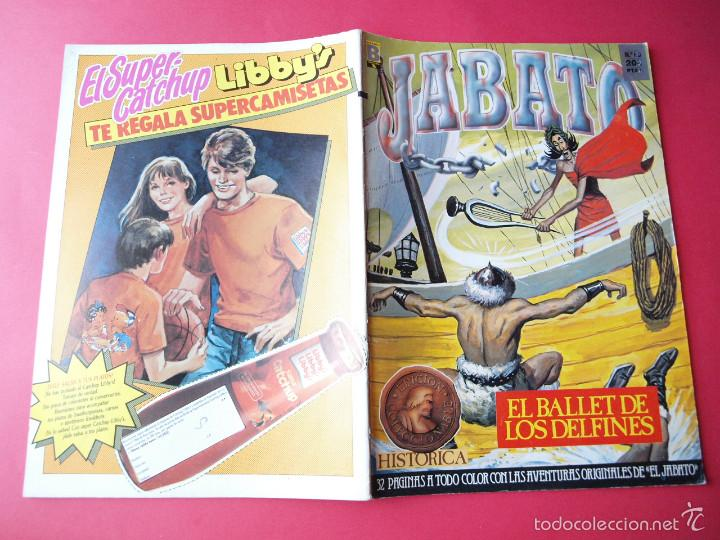 Cómics: JABATO NÚMERO 60 - EL BALLET DE LOS DELFINES - EDICIÓN HISTÓRICA - EDICIONES B - Foto 3 - 57190692
