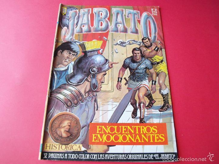 JABATO NÚMERO 61 - ENCUENTROS EMOCIONANTES - EDICIÓN HISTÓRICA - EDICIONES B (Tebeos y Comics - Ediciones B - Clásicos Españoles)