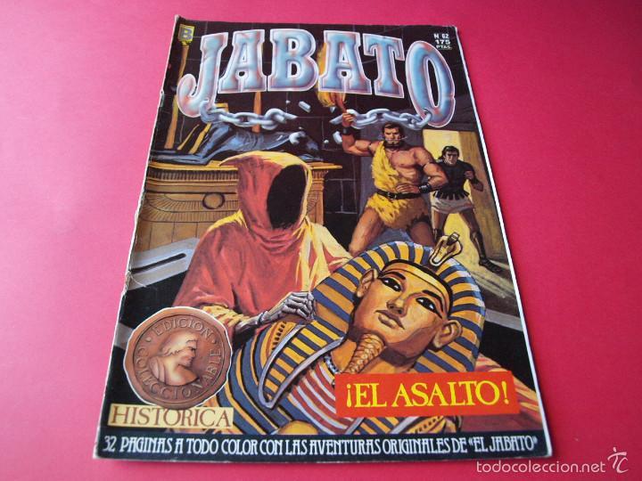JABATO NÚMERO 62 - ¡EL ASALTO! - EDICIÓN HISTÓRICA - EDICIONES B (Tebeos y Comics - Ediciones B - Clásicos Españoles)