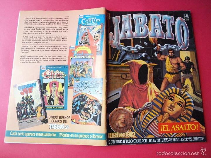 Cómics: JABATO NÚMERO 62 - ¡EL ASALTO! - EDICIÓN HISTÓRICA - EDICIONES B - Foto 3 - 57190942