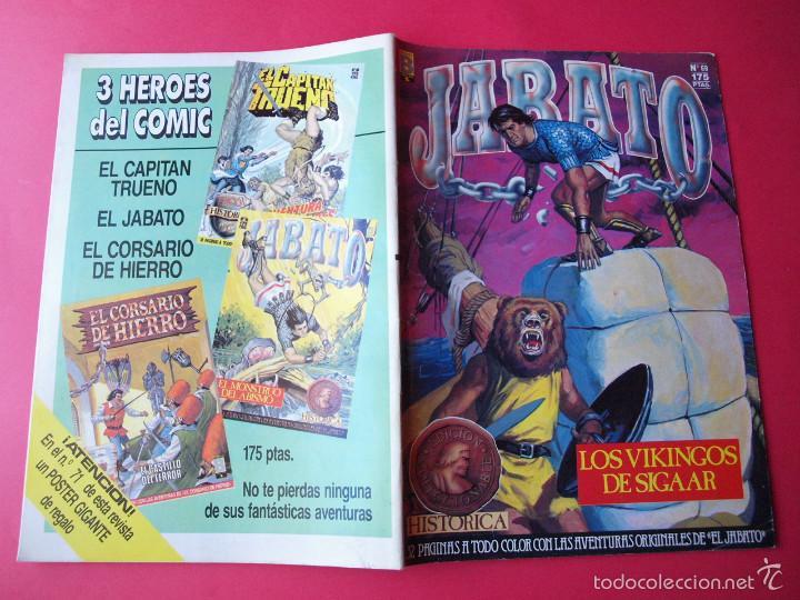 Cómics: JABATO NÚMERO 69 - LOS VIKINGOS DE SIGAAR - EDICIÓN HISTÓRICA - EDICIONES B - Foto 3 - 57191889