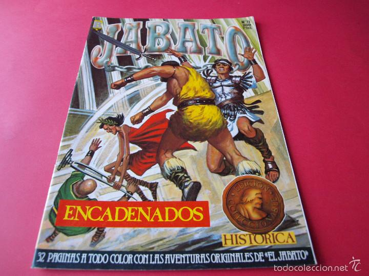 JABATO NÚMERO 73 - ENCADENADOS - EDICIÓN HISTÓRICA - EDICIONES B (Tebeos y Comics - Ediciones B - Clásicos Españoles)