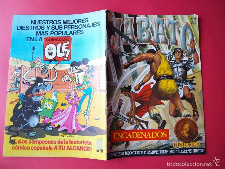 Cómics: JABATO NÚMERO 73 - ENCADENADOS - EDICIÓN HISTÓRICA - EDICIONES B - Foto 3 - 57192329