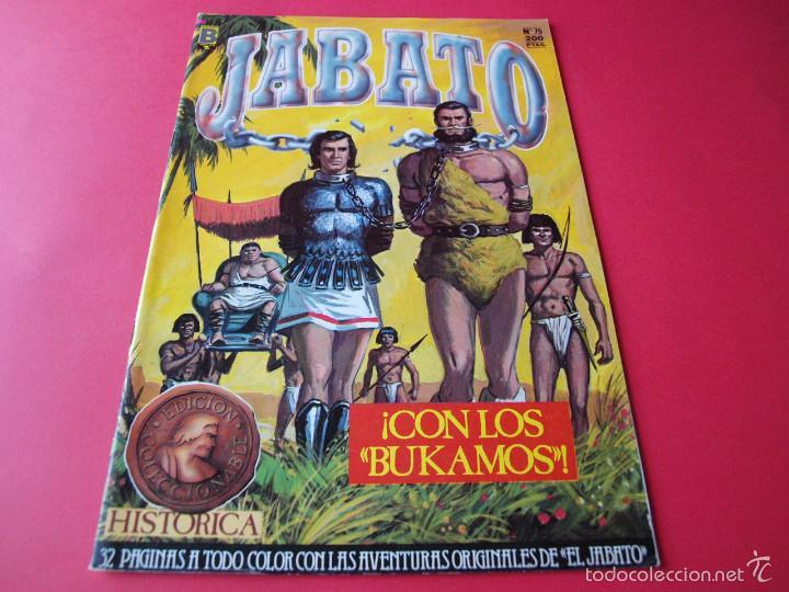 JABATO NÚMERO 75 - ¡CON LOS BUKAMOS! - EDICIÓN HISTÓRICA - EDICIONES B (Tebeos y Comics - Ediciones B - Clásicos Españoles)