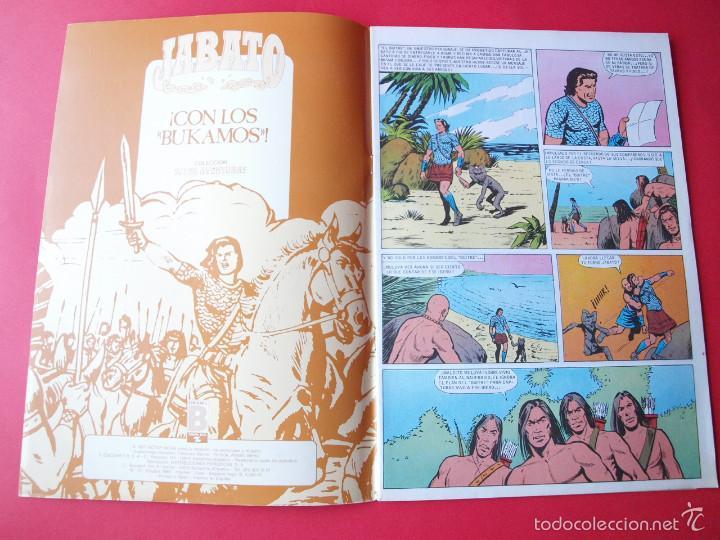 Cómics: JABATO NÚMERO 75 - ¡CON LOS BUKAMOS! - EDICIÓN HISTÓRICA - EDICIONES B - Foto 2 - 57192456