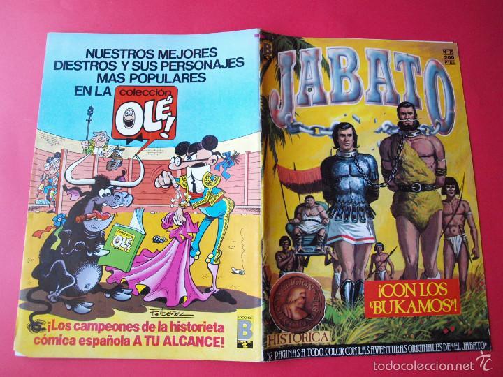 Cómics: JABATO NÚMERO 75 - ¡CON LOS BUKAMOS! - EDICIÓN HISTÓRICA - EDICIONES B - Foto 3 - 57192456