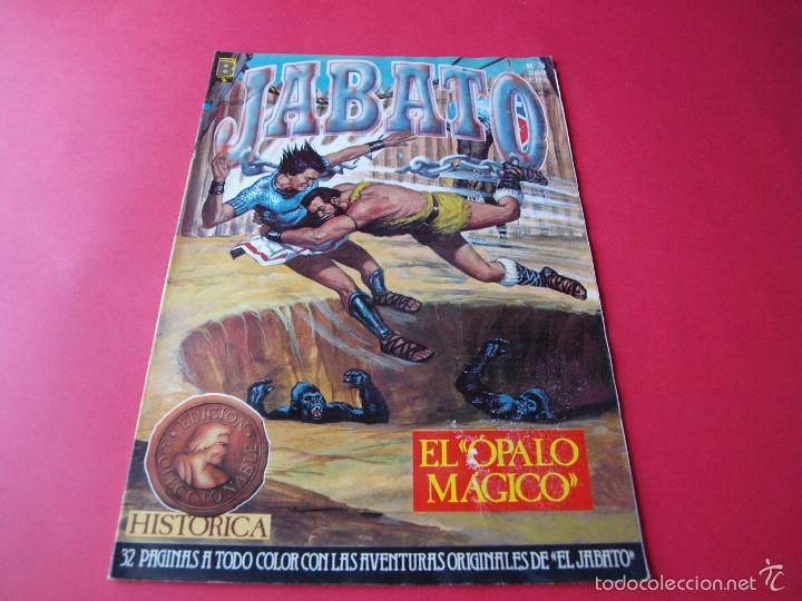 JABATO NÚMERO 78 - EL ÓPALO MÁGICO - EDICIÓN HISTÓRICA - EDICIONES B (Tebeos y Comics - Ediciones B - Clásicos Españoles)