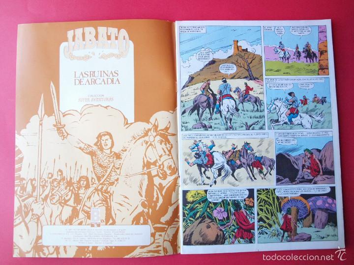 Cómics: JABATO NÚMERO 97 - LAS RUINAS DE ARCADIA - EDICIÓN HISTÓRICA - EDICIONES B - Foto 2 - 57194638