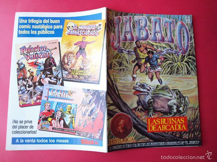 Cómics: JABATO NÚMERO 97 - LAS RUINAS DE ARCADIA - EDICIÓN HISTÓRICA - EDICIONES B - Foto 3 - 57194638
