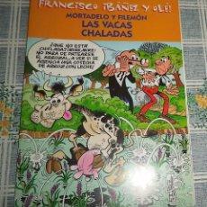 Cómics: MORTADELO Y FILEMON LAS VACAS CHALADAS COL. FRANCISCO IBAÑEZ Y OLE . Lote 57319421
