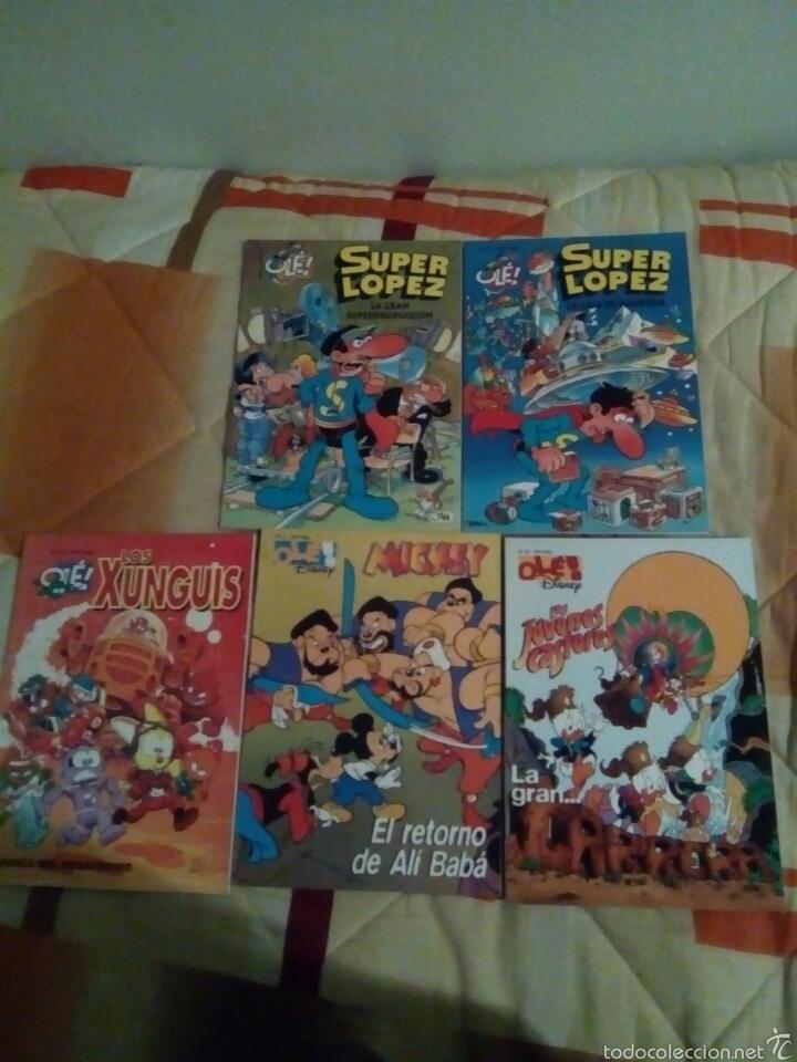 5 ALBUMES COLECCION OLE. (Tebeos y Comics - Ediciones B - Humor)