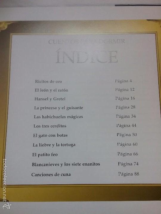 Cómics: CUENTOS PARA DORMIR EDICIONES B GRUPO Z AÑO 2003 - Foto 4 - 57418151