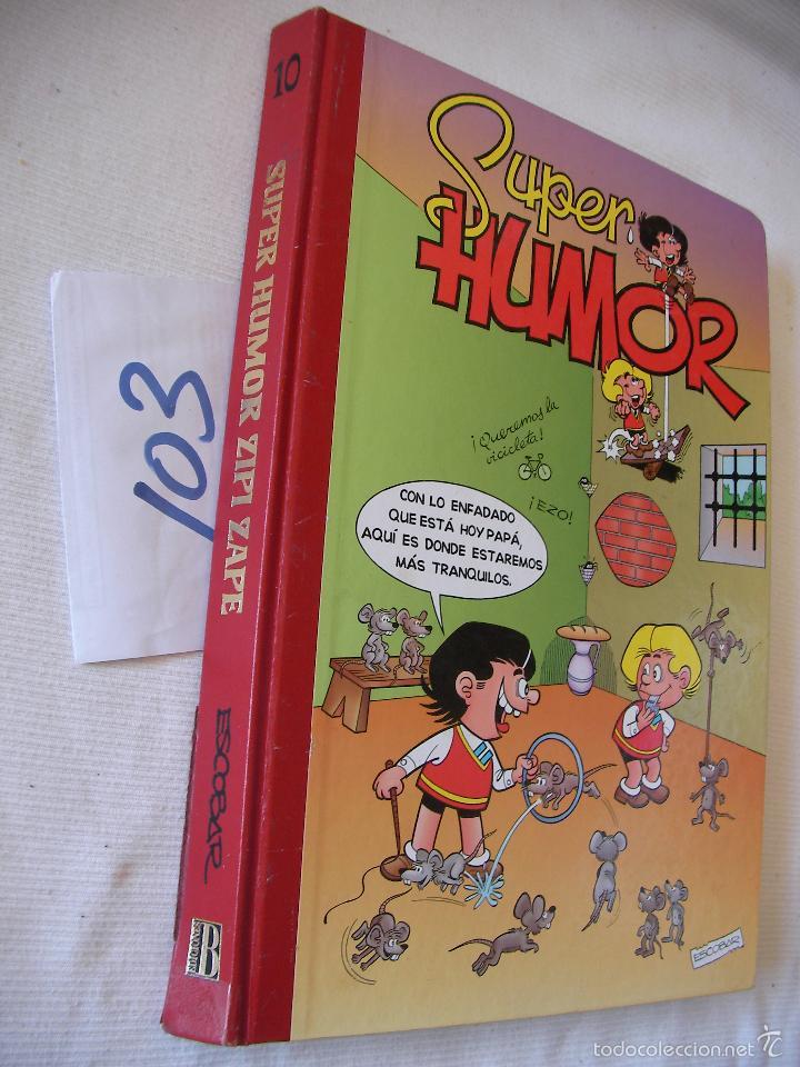 SUPER HUMOR Nº 10 (Tebeos y Comics - Ediciones B - Humor)