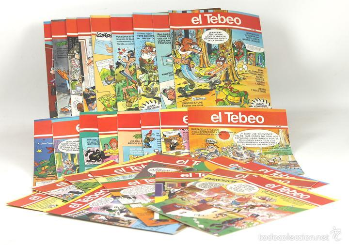 7725 - EL TEBEO. 29 EJEMPLARES(VER DESCRIP). VV. AA. EDICIONES B. 1991. (Tebeos y Comics - Ediciones B - Otros)