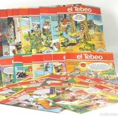 Cómics: 7725 - EL TEBEO. 29 EJEMPLARES(VER DESCRIP). VV. AA. EDICIONES B. 1991.. Lote 57761555