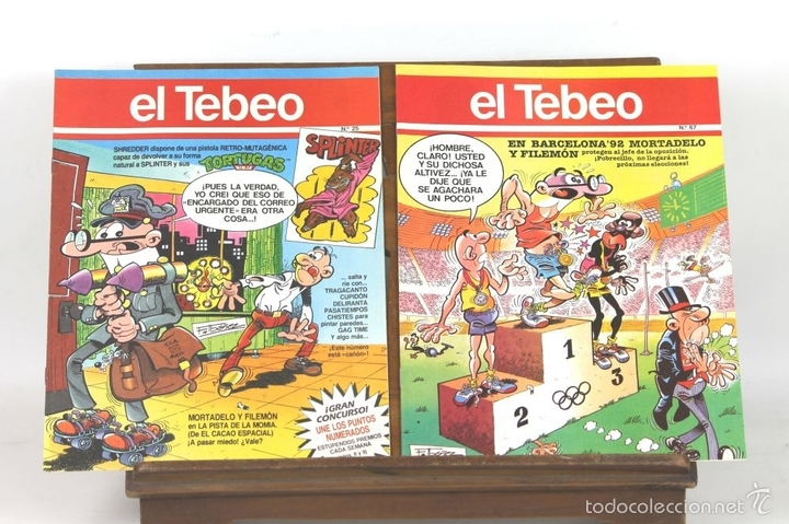 Cómics: 7725 - EL TEBEO. 29 EJEMPLARES(VER DESCRIP). VV. AA. EDICIONES B. 1991. - Foto 2 - 57761555