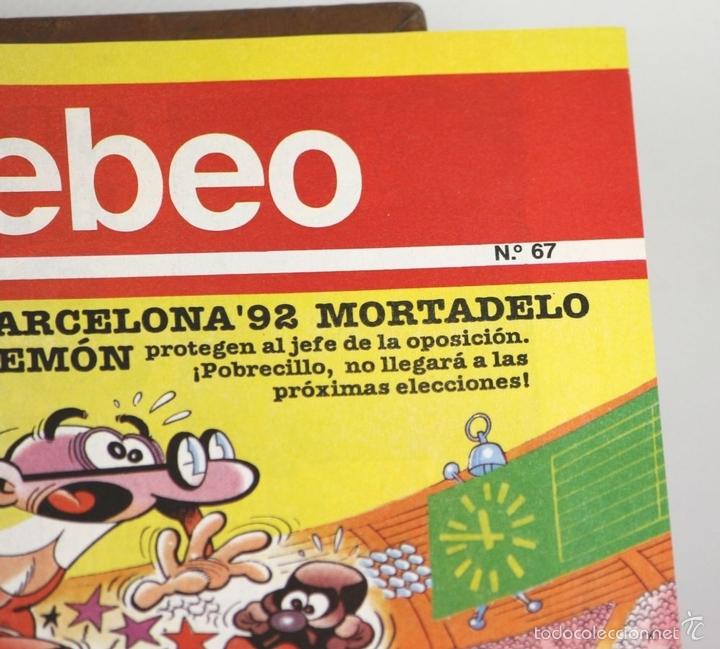 Cómics: 7725 - EL TEBEO. 29 EJEMPLARES(VER DESCRIP). VV. AA. EDICIONES B. 1991. - Foto 4 - 57761555