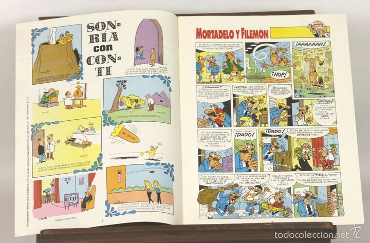 Cómics: 7725 - EL TEBEO. 29 EJEMPLARES(VER DESCRIP). VV. AA. EDICIONES B. 1991. - Foto 5 - 57761555