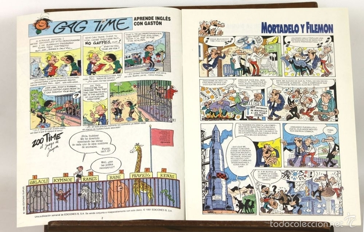 Cómics: 7725 - EL TEBEO. 29 EJEMPLARES(VER DESCRIP). VV. AA. EDICIONES B. 1991. - Foto 8 - 57761555