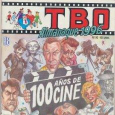 Cómics: TBO ALMANAQUE 1996 100 AÑOS DE CINE. Lote 57792033