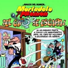 Cómics: CÓMICS. MAGOS DEL HUMOR 180. MORTADELO Y FILEMÓN. ¡EL CAPO SE ESCAPA! - FRANCISCO IBÁÑEZ (CARTONE). Lote 106022358