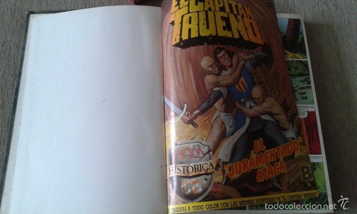 EL CAPITAN TRUENO - EDICIONES B - GRUPO Z- COMICS ENCUADERNADOS - 1987 (Tebeos y Comics - Ediciones B - Otros)