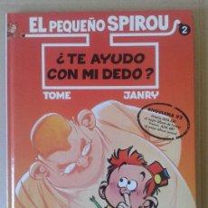 Cómics: EL PEQUEÑO SPIROU NÚMERO 2: ¿TE AYUDO CON MI DEDO?, DE TOME Y JANRY. EDICIONES B. CARTONÉ.. Lote 57909626