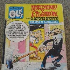 Cómics: COLECCION OLE -- MORTADELO Y FILEMON -- Nº 186 - M. 101 -- EDICIONES B - 1ª EDICION 1988 --. Lote 57976958