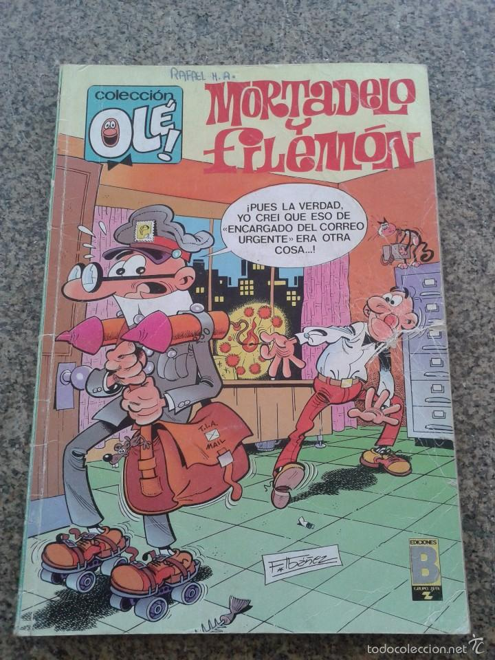COLECCION OLE -- MORTADELO Y FILEMON -- Nº 71 - M. 78 -- EDICIONES B - 1ª EDICION 1988 -- (Tebeos y Comics - Ediciones B - Otros)