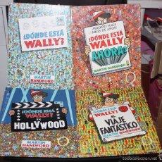 Comics : ¿DONDE ESTA WALLY? TOMOS 1,2,3 Y 5. Lote 57980013
