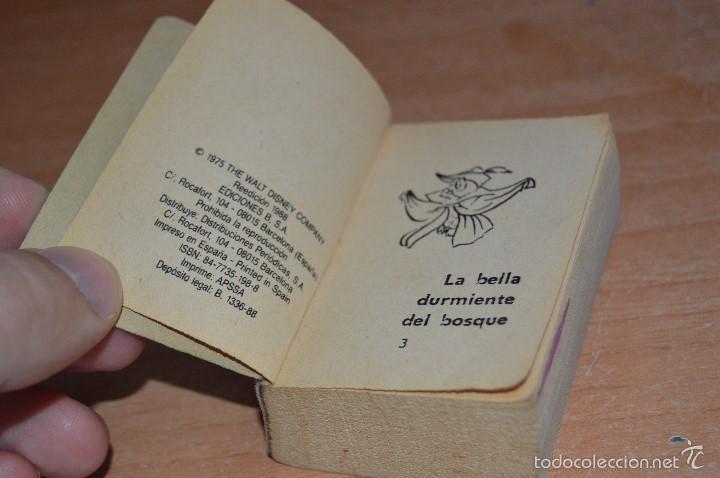 Cómics: MINI INFANCIA Nº 10 - LA BELLA DURMIENTE DEL BOSQUE - REEDICIÓN 1988 - Foto 5 - 58199975