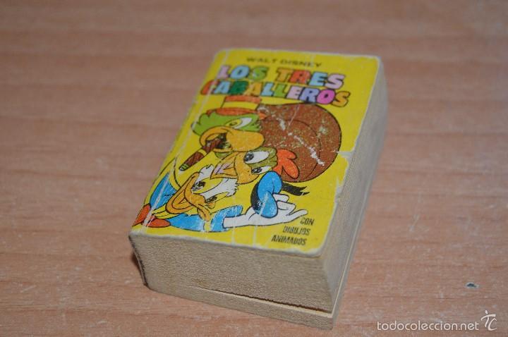 MINI INFANCIA Nº 11 - LOS TRES CABALLEROS - REEDICIÓN 1988 (Tebeos y Comics - Ediciones B - Otros)