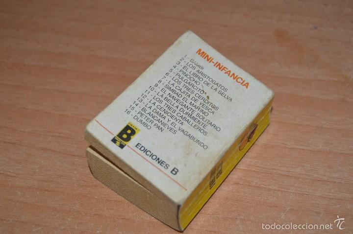 Cómics: MINI INFANCIA Nº 11 - LOS TRES CABALLEROS - REEDICIÓN 1988 - Foto 4 - 58200001