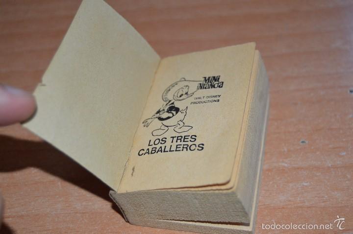 Cómics: MINI INFANCIA Nº 11 - LOS TRES CABALLEROS - REEDICIÓN 1988 - Foto 5 - 58200001
