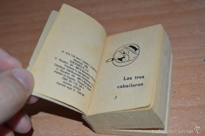 Cómics: MINI INFANCIA Nº 11 - LOS TRES CABALLEROS - REEDICIÓN 1988 - Foto 6 - 58200001