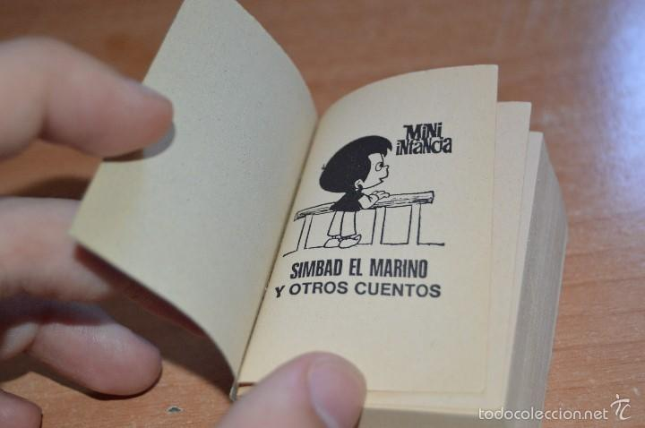 Cómics: MINI INFANCIA Nº 8 - SIMBAD EL MARINO Y OTROS CUENTOS - 1ª EDICION JULIO 1987 - Foto 4 - 58200020
