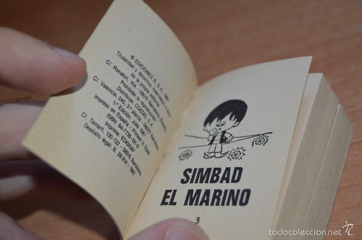 Cómics: MINI INFANCIA Nº 8 - SIMBAD EL MARINO Y OTROS CUENTOS - 1ª EDICION JULIO 1987 - Foto 5 - 58200020