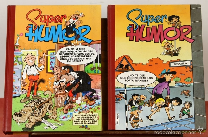 Cómics: 7844 - SUPER HUMOR VARIOS. 7 TOMOS(VER DESCRIP). VV. AA. EDI. B. 1993/1996. - Foto 2 - 212319416