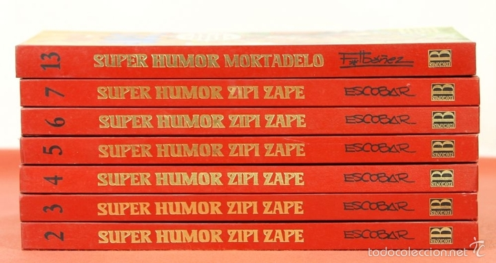 Cómics: 7844 - SUPER HUMOR VARIOS. 7 TOMOS(VER DESCRIP). VV. AA. EDI. B. 1993/1996. - Foto 10 - 212319416