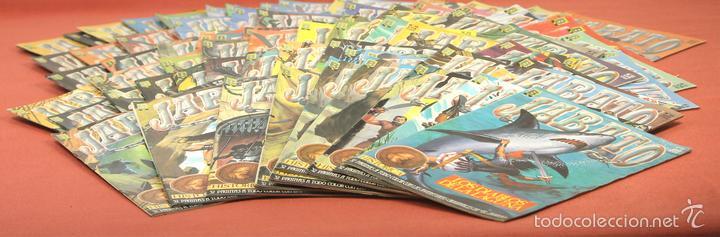 7849 - JABATO. LOTE DE 72 EJEMPLARES (VER DESCRIPCIÓN). EDICIONES B. 1987. (Tebeos y Comics - Ediciones B - Otros)