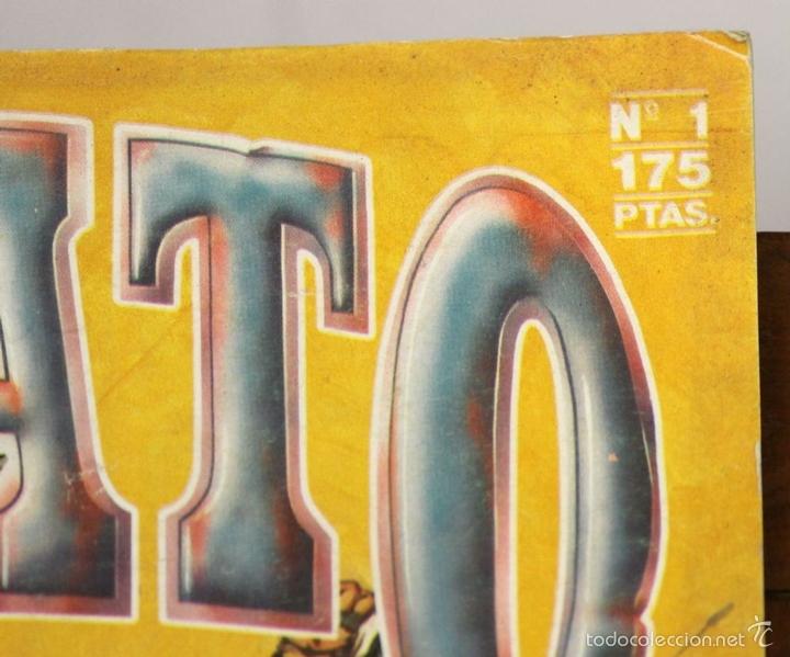 Cómics: 7849 - JABATO. LOTE DE 72 EJEMPLARES (VER DESCRIPCIÓN). EDICIONES B. 1987. - Foto 3 - 58242279