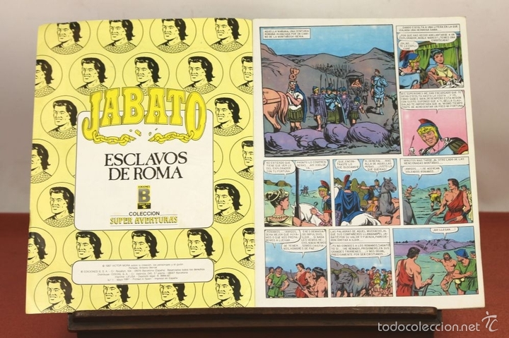 Cómics: 7849 - JABATO. LOTE DE 72 EJEMPLARES (VER DESCRIPCIÓN). EDICIONES B. 1987. - Foto 5 - 58242279