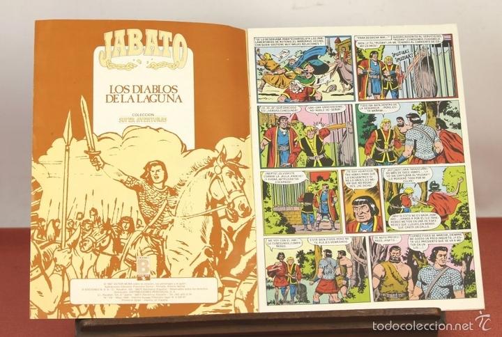 Cómics: 7849 - JABATO. LOTE DE 72 EJEMPLARES (VER DESCRIPCIÓN). EDICIONES B. 1987. - Foto 6 - 58242279