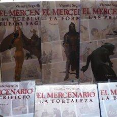 Cómics: EL MERCENARIO. SEGRELLES. EDICIONES B, 6 ALBUMES.. Lote 58344499