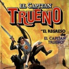 Cómics: EL REGRESO DE EL CAPITÁN TRUENO. DE JESÚS BLASCO Y VÍCTOR MORA (B, 1986). Lote 58416423