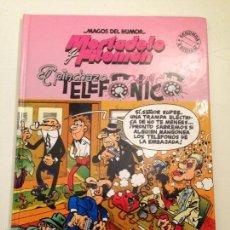 Cómics: MAGOS DEL HUMOR Nº 55. MORTADELO Y FILEMON. EL PINCHAZO TELEFONICO. EDICIONES B 2ª EDICION.. Lote 58452300