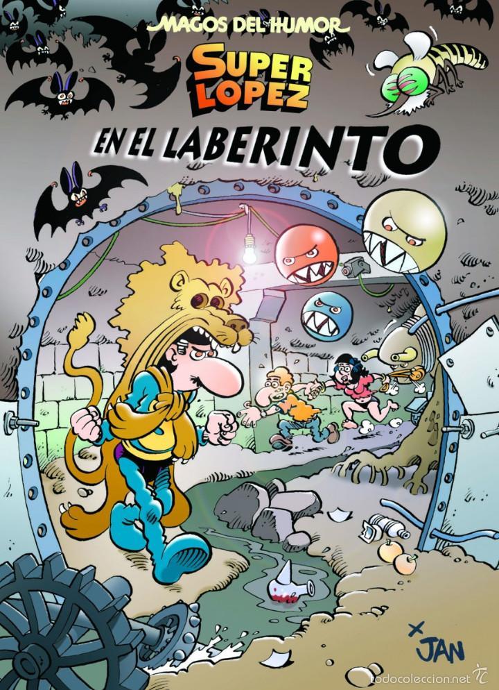 CÓMICS. MAGOS DEL HUMOR 173. SUPERLÓPEZ. EN EL LABERINTO - JAN (CARTONÉ) (Tebeos y Comics - Ediciones B - Humor)