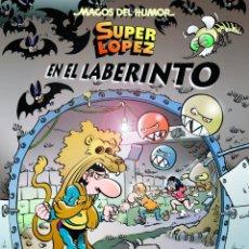 Cómics: CÓMICS. MAGOS DEL HUMOR 173. SUPERLÓPEZ. EN EL LABERINTO - JAN (CARTONÉ). Lote 210528950
