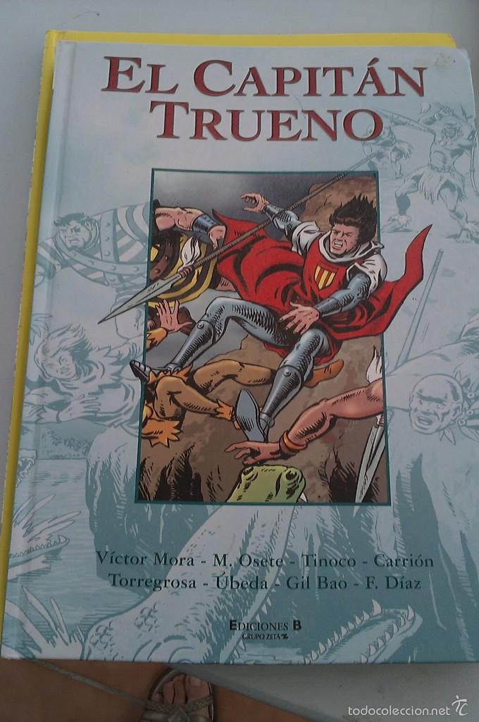 LIBRO EL CAPITAN TRUENO EDICION ANIVERSARIO (Tebeos y Comics - Ediciones B - Clásicos Españoles)